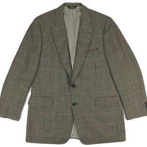 Vintage Paul Stuart Tweed Blazer Sport Coat Sz 44L